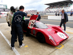 Chevron B16 at Le Mans Classic 2012