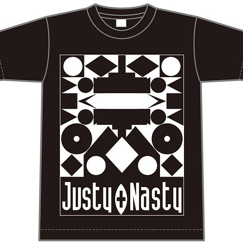 "Justy-Nasty NEW Tシャツ""PLASTIC ROMANTIC"""