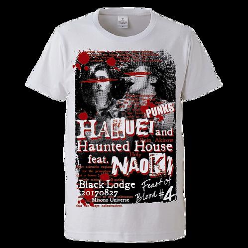 HAKUEI & HAUNTED HOUSE feat.NAOKI Tシャツ