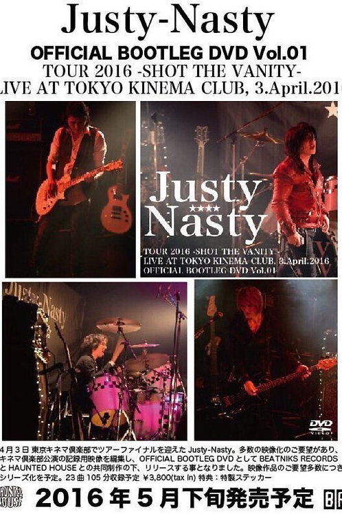 Justy-Nasty OFFICIAL BOOTLEG DVD Vol.1