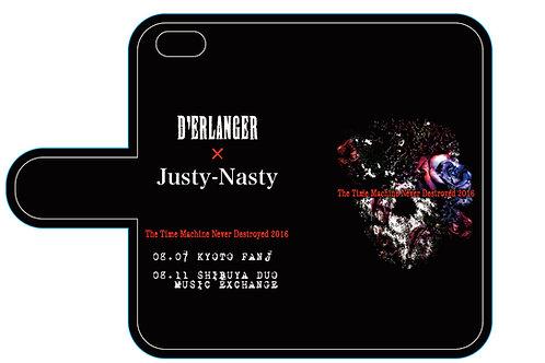 D'ERLANGER x Justy-Nasty 手帳型SMART PHONE CASE