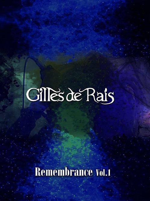 Gilles de Rais / Remembrance Vol.1 DVD