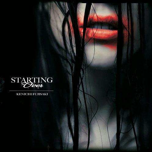 """KENICHI FUJISAKI """"STARTING OVER""""(通販特典 : 特製直筆サイン入りポストカード))"""