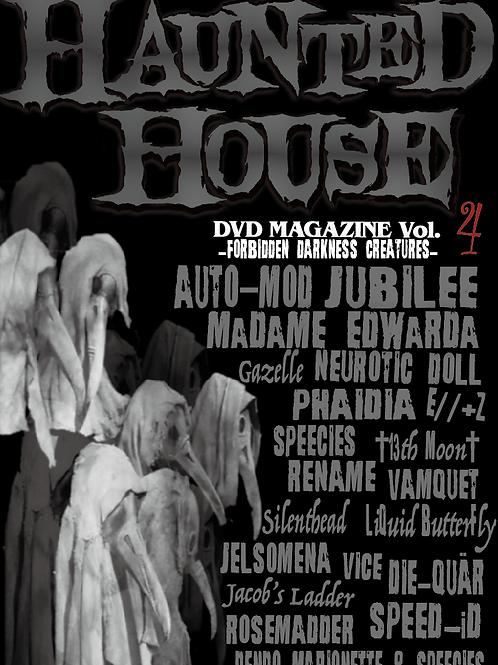 HAUNTED HOUSE DVD MAGAZINE Vol.4-FORBIDDEN DARKNESS CREATURES-