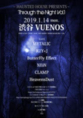 20190114 Through the Night Vol.1フライヤー.jp
