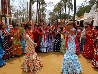 Dancing Sevillanas - a sad tale