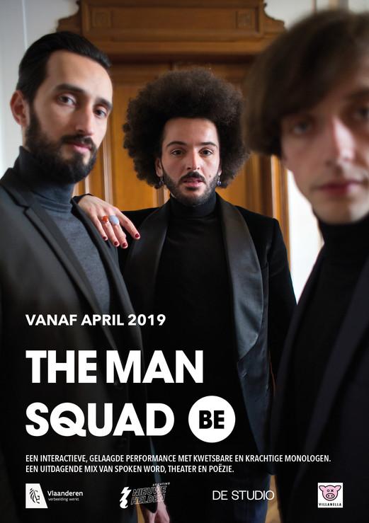The man squad be / fotografie & vormgeving / 2019