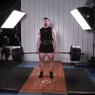 Mike Bishop Powerlifter