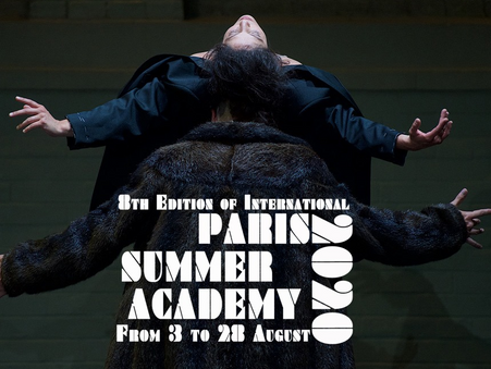 Acceptance to Paris Summer Academy 2021!