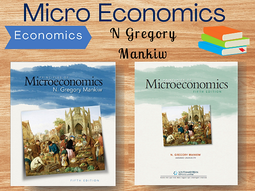Principles of Microeconomics by N Gregory Mankiw | Ebook | PDF | Full Book | Com