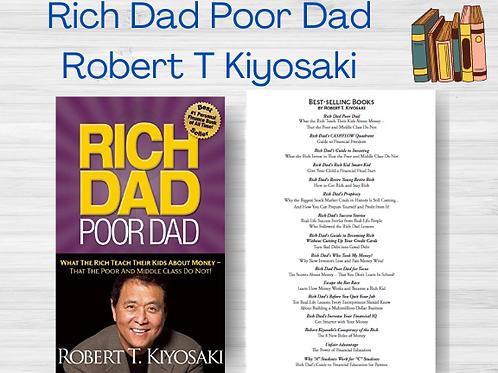 Rich Dad Poor Dad   Robert T Kiyosaki   Ebook   PDF   Full Book   Instant
