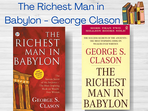 The Richest Man in Babylon | George S Clason | Ebook | PDF | Full Book | Instant