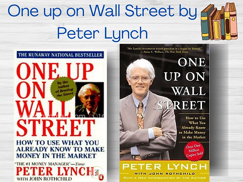 One Up on Wall Street | Peter Lynch | George S Clason | Ebook | PDF | Full Book