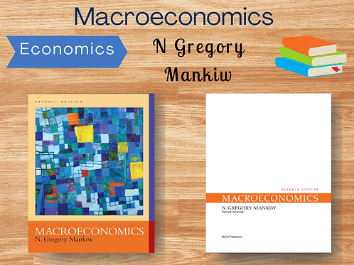 Macroeconomics by N Gregory Mankiw   Ebook   PDF   Full Book   Complete  College