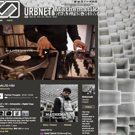 Urbnet-Mathematiks Bandcamp