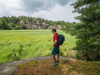 Camping in Killarney, Ontario... Bear County.