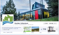 Humber Arboretum Facebook