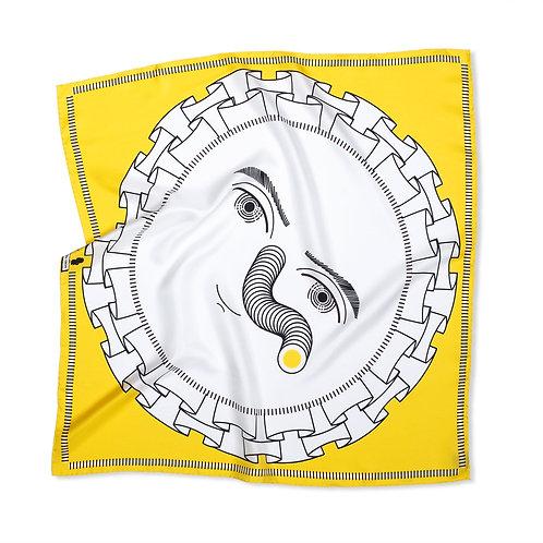 Rosette Yellow Bandana
