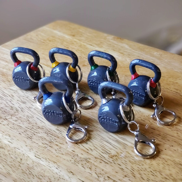 Kettlebell Keychains