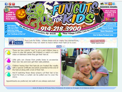 Fun Cuts For Kids Web Design