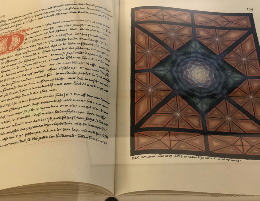 Jung's Red Book, Open