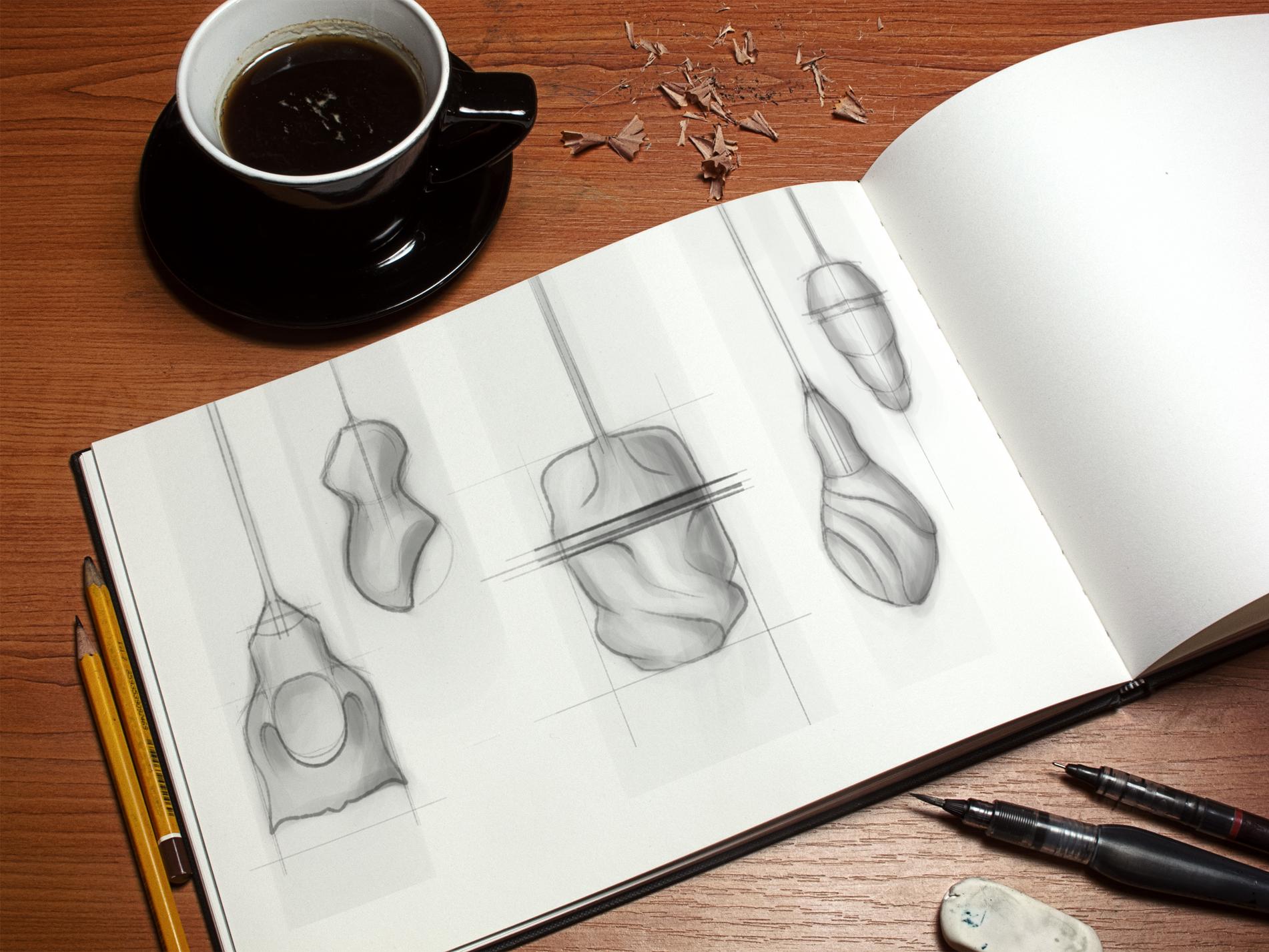 Pendant Light: Sketches