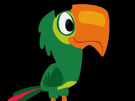 Você conhece o Papagaio? - Curiosidades e materiais didáticos para as crianças!