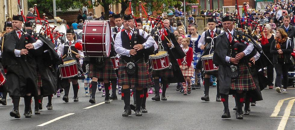 Highland March