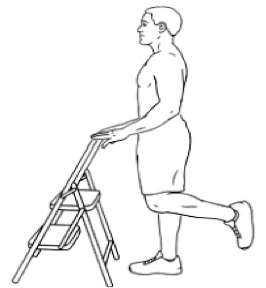 one leg balance ankle therapy