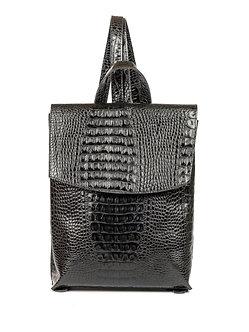Рюкзак Boti из натуральной черной кожи