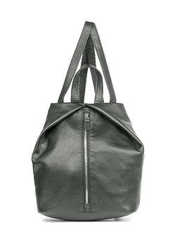 Рюкзак OFTA из натуральной серой кожи