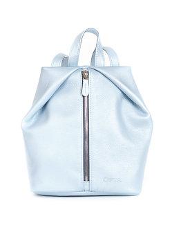 Рюкзак OFTA из натуральной голубой кожи