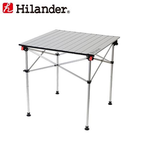 ハイランダー アルミロールテーブル 70×70cm