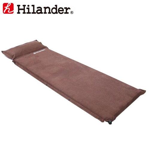 ハイランダー スエードインフレーターマット(枕付きタイプ) 9.0cm