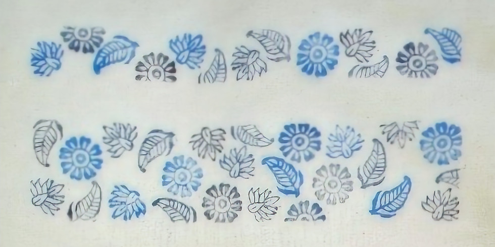 Fabric Printing - Kit & Online Workshop - 7 Jan