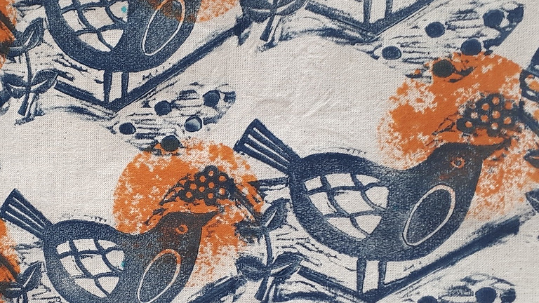Shibori and Fabric Printing at MAC Nov 2021