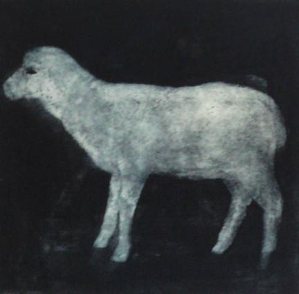 Still Useful-Lamb (etching)