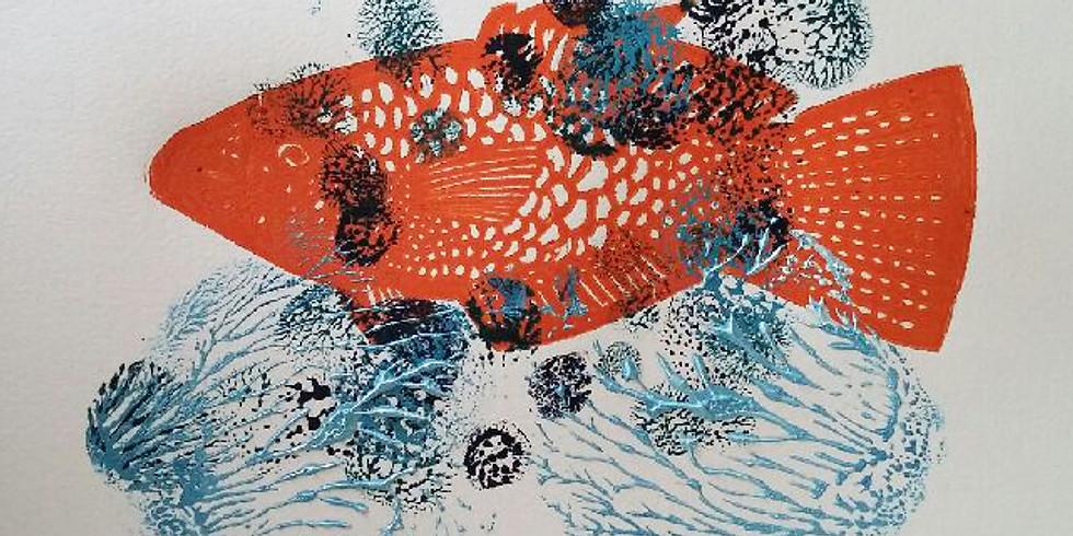 Create your own striking linocut prints