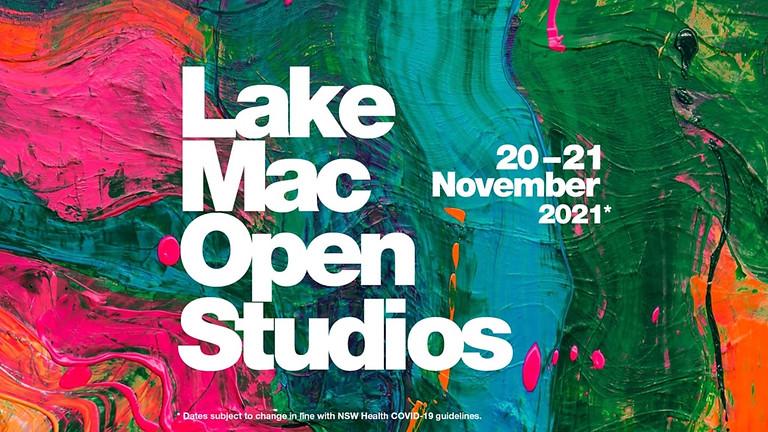 Lake Mac Open Studios 20th & 21st November