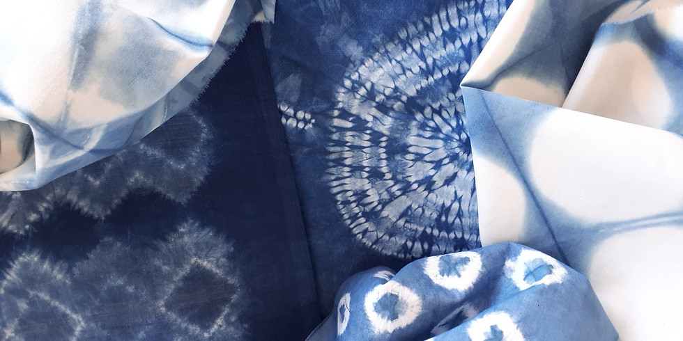 Shibori Workshop at Shoal Bay on 18 July