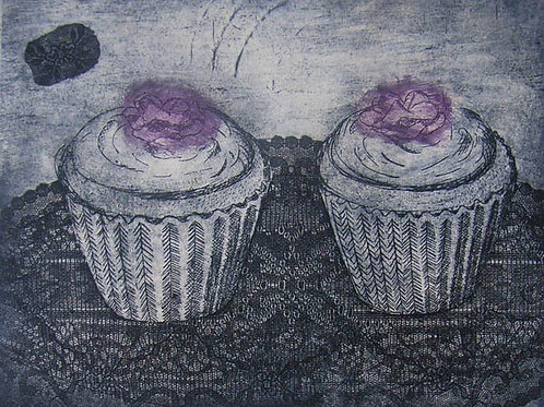 Pair of cup cakes