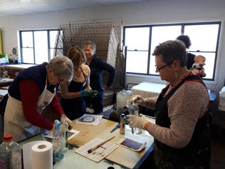 Etching workshop May 2018