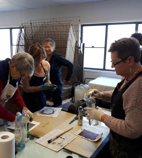 Etching workshop