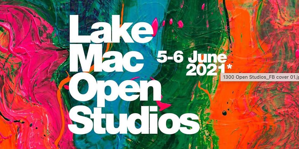 Open Studio 5-6 June - admission free