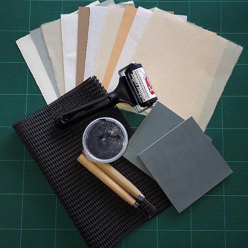 Lino printing kit