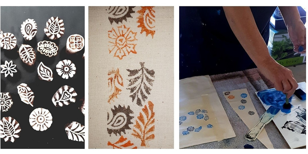 Fabric Printing - Kit & Online Workshop - 29 Oct