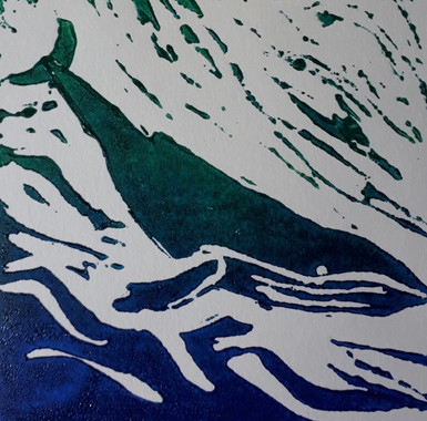 Tracy two colour lino