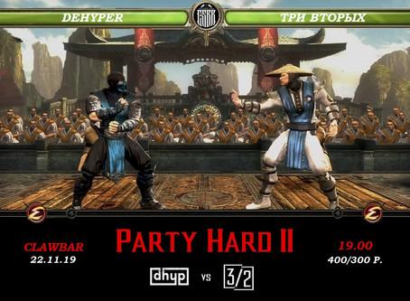 PARTY HARD II @ Clawbar
