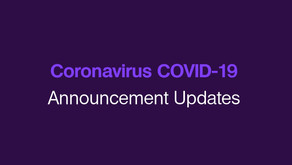 COVID-19: Announcement Updates 27th March 2020