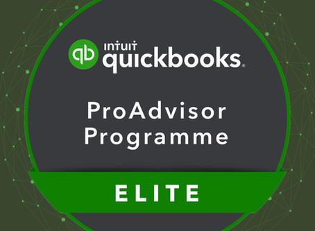 We're a QuickBooks Elite Partner!